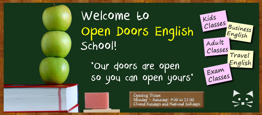 Welcome to Open Doors English School!